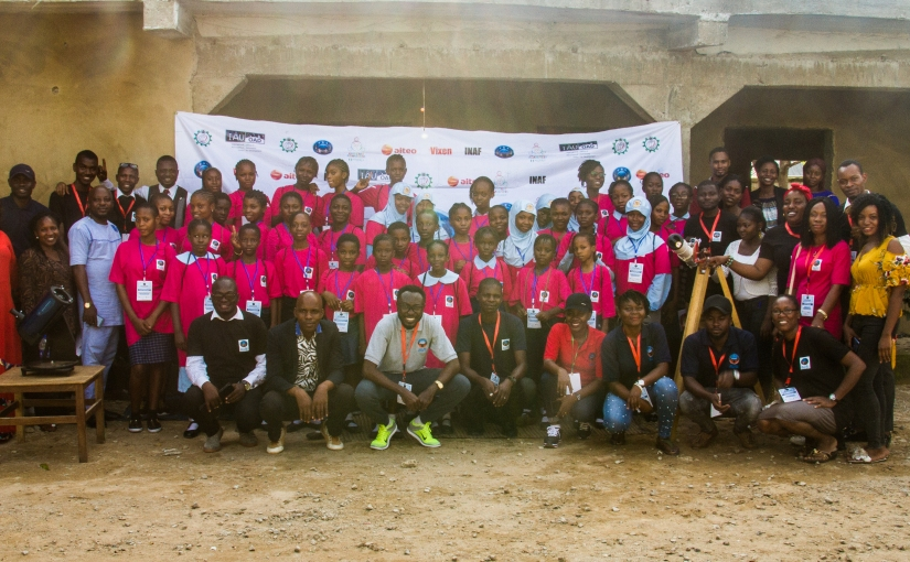 2019 Girls Astronomy Camp Nassarawa